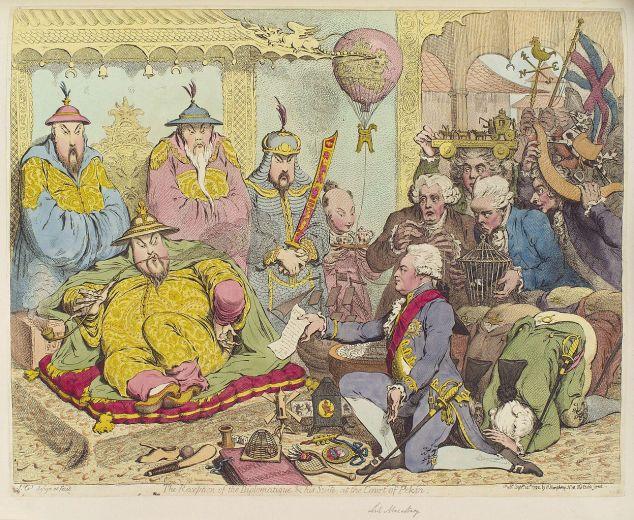 המשלחת הבריטית הראשונה לסין