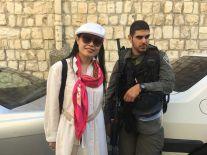 """בירושלים עם מג""""ב"""