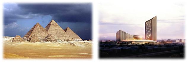 בנייה באפריקה - אז והיום