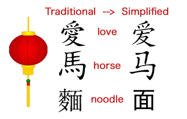 traditional-simplified