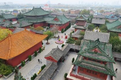 חצר הממשל העתיקה בקאי-פנג