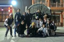 צילום קבוצתי של הסטונדטים הזרים במגמת הוראה